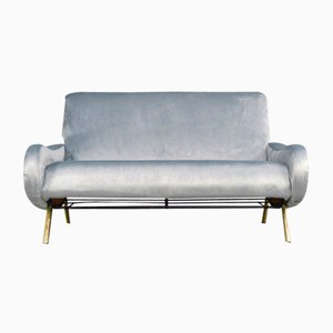 Blue Lady Sofa by Marco Zanuso for Arflex, 1950s