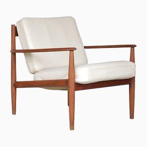 Vintage Armlehnstuhl aus Solidem Teak von Grete Jalk für France & Søn