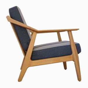 Danish Oak Lounge Chair by H. Brockmann Petersen for Poul M. Jessen, 1950s