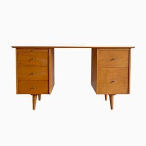 Modell 1561 Ahorn Schreibtisch von Paul McCobb für Winchendon Furniture, 1950er