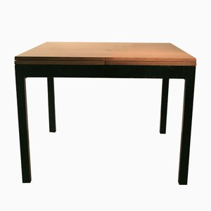 Mid-Century Square Extendable Table by Willy Guhl