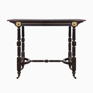 Antique Aesthetic Movement Centre Table, 1870