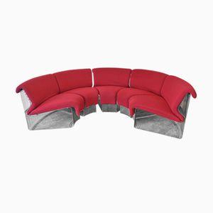 Pantonova Sofa Set by Verner Panton for Fritz Hansen, 1970s