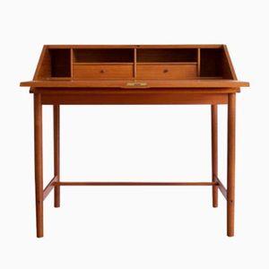Danish Teak Writing Desk by Arne Wahl for Vinde Mobelfabrik, 1960s