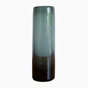 Vase Bleu en Verre par Per Lutken pour Holmegaard, 1962