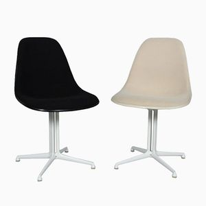 Mid-Century La Fonda Chairs by Charles & Ray Eames for Herman Miller, Set of 2