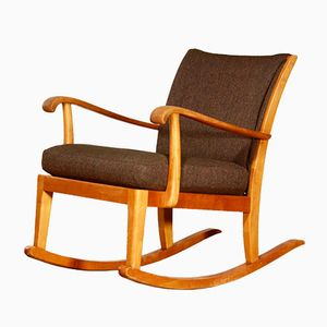 Rocking Chair by Axel Larsson for Bodafors, 1950s