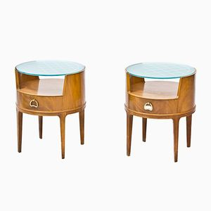 Night Stands by Axel Larsson for Bodafors, 1940s, Set of 2