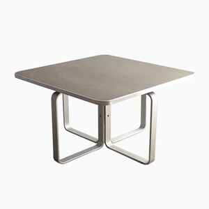 Vintage Square Aluminum Coffee Table
