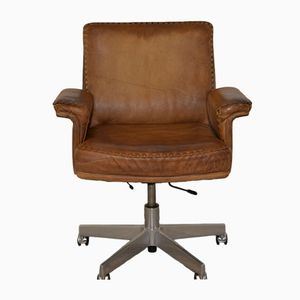 Schweizer DS35 Manager Schreibtischstuhl von de Sede, 1960er