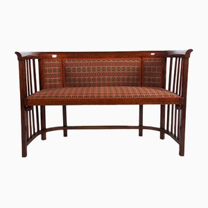 Antique Bentwood Settee by Josef Hoffmann for Thonet