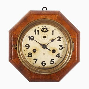 Art Deco Wall Clock from Junghans