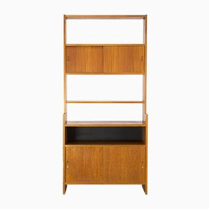 Wall Cabinet by Poul Cadovius for KLM, 1950s