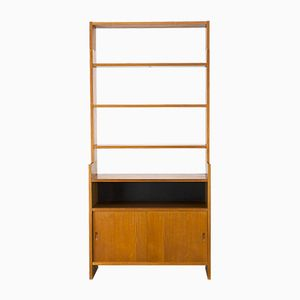 Teak Wall Cabinet by Poul Cadovius for KLM, 1950s