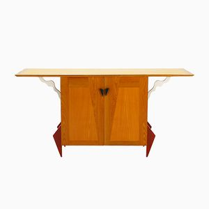 German Beech & Ash Sideboard, 1980s