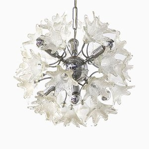 Sputnik Flower Hanging Lamp by Paolo Venine for VeArt Italy