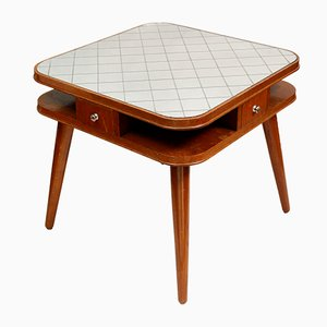 Czech Card Table, 1950s