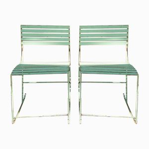 Mid-Century Italian Garden Rocking Chairs, 1960s, Set of 2