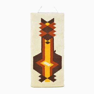 Geometrischer Katzenteppich, 1970er