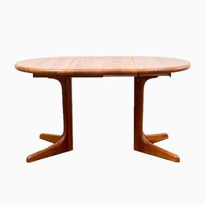 Model 177 Teak Dining Table by Niels Koefoed for Koefoed, 1960s