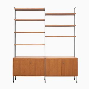 Modular Omnia Teak Wall Unit from Hilker