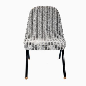 Easy Chair in Gray Fabric, 1960s