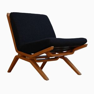 Modernist Goble Easy Chair by Dorothy & Paul Goble for Stag Cabinet Co., 1960s