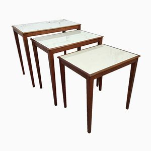 German Nesting Tables, 1940s