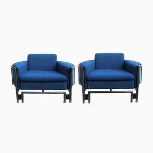 Postmodern Lounge Armchairs, 1980s, Set of 2
