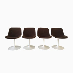 Spirit Dining Chairs by Hajime Oonishi for Houtoku/Artifort, 1970s, Set of 4