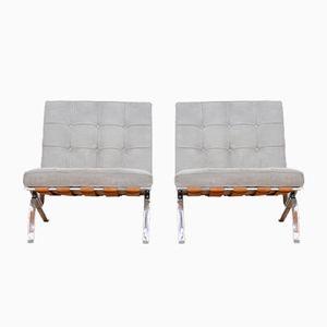 Lounge Stühle von Robert Haussmann für de Sede, 2er Set