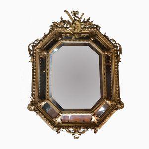 Antique French Golden Mirror, 1880s