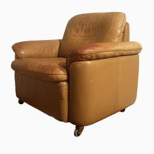 Vintage Armlehnstuhl mit Rollen von de Sede