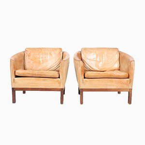 Vintage Lounge Chairs by Illum Wikkelsø for Arne Norell AB, Set of 2