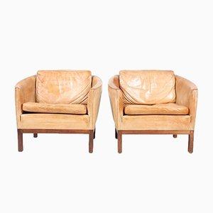 Vintage Lounge Stühle von Illum Wokkelsø für Arne Norell AB, 2er Set