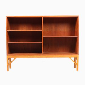 Vintage Danish Bookcase in Teak by Børge Mogensen for FDB, 1960s