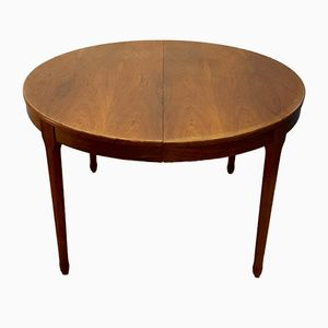 Round Rosewood Table from Meuble TV Paris