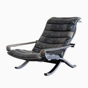Großer Vintage Flex Lounge Stuhl von Ingmar Relling für Westnofa