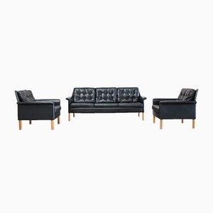 Vintage Sofa & Zwei Sessel von Rudolf Glatzel für Kill International