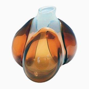 Italienische Vase von Claire Falkenstein für Salviati Murano, 1972