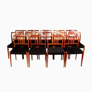 Mid-Century Rosewood Dining Chairs by Nils Jonsson, 1960s, Set of 8