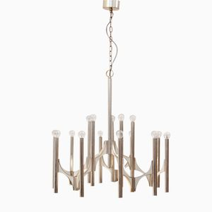 Mid-Century Italian Ceiling Lamp from Sciolari, 1970s