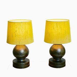 Keramik Tischlampen von Bitossi für Luxus, 1968, 2er Set