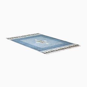 Schwedischer Flach Gewebter Vintage Rölakan Teppich von Ingegerd Silow