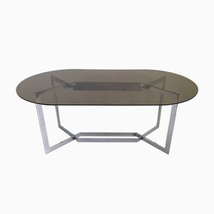Oval Dinning Table by Paul Legeard from DOM, 1970s