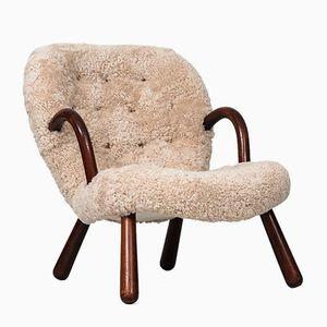 Vintage Easy Chair by Philip Arctander for Nordisk Stål & Møbel Central