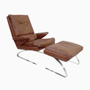 Buy mid century chaise lounges at pamono for Buy chaise lounge uk
