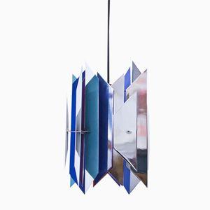 Vintage Divan-2 Deckenlampe von Simon P. Henningsen für Lyfa