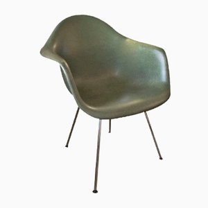 Vintage Green Fiberglass Chair by Charles & Ray Eames for Vitra