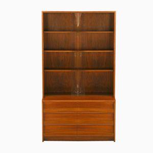 Walnut Display Cabinet from DWM, 1960s
